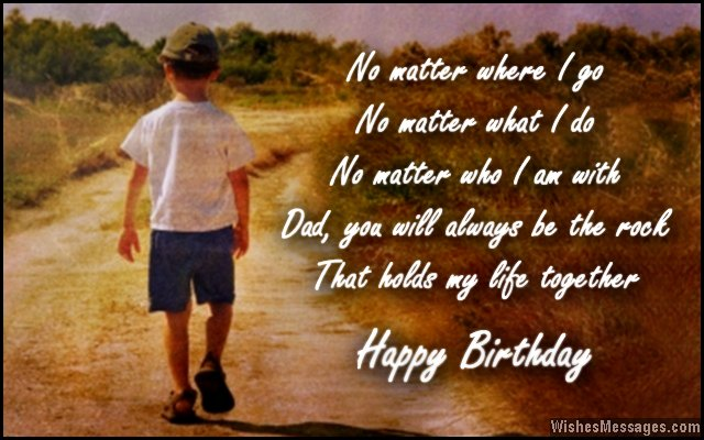 Birthday Wishes for Dad Quotes and Messages WishesMessages – Birthday Greeting Dad