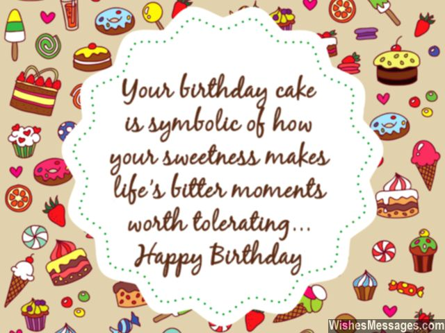 Happy  birthday aysha Birthday-wishes-for-her-sweet-message-birthday-cake-and-life