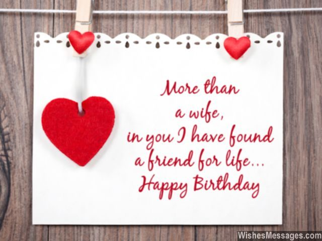 Birthday Wishes for Wife Quotes and Messages WishesMessages – Happy Birthday Greeting for Wife
