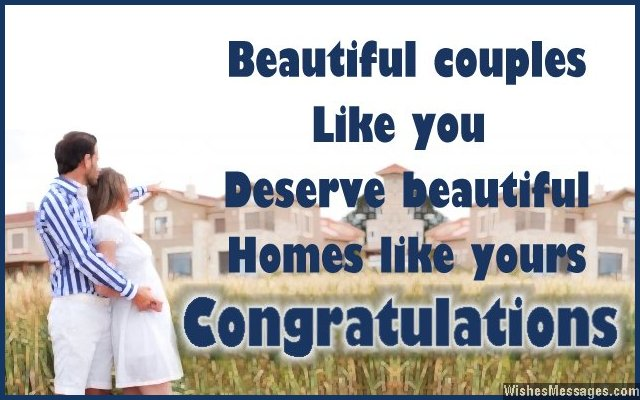 New Home Wishes And Messages Congratulations For Buying A New