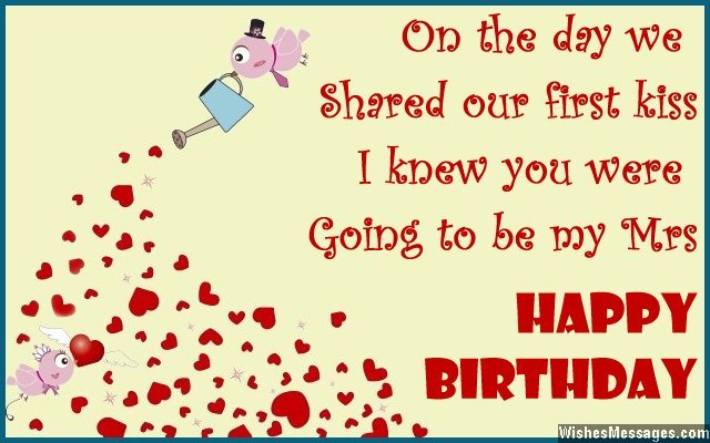birthday wishes for wife quotes and messages  wishesmessages, Greeting card