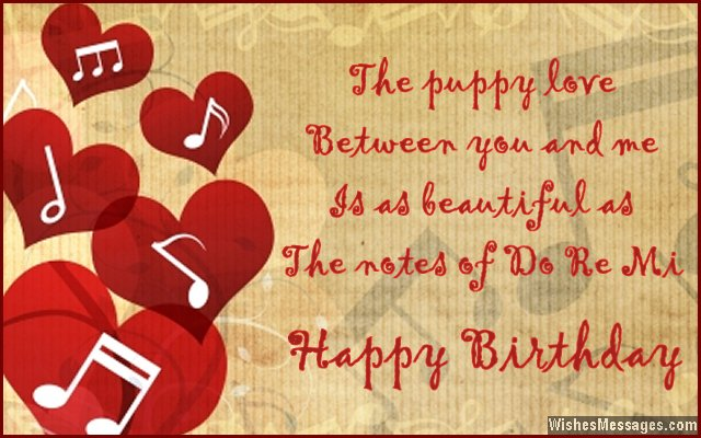 Birthday wishes for girlfriend quotes and messages wishesmessages cute birthday card message to girlfriend from boyfriend m4hsunfo