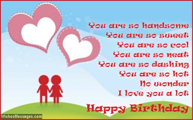 Birthday Poems For Boyfriend Wishesmessages Com