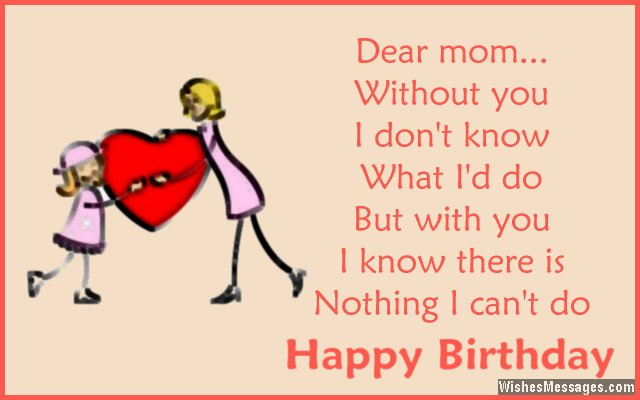 Birthday Wishes for Mom Quotes and Messages WishesMessages – Happy Birthday Greetings for Mom