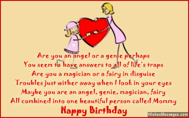 Birthday Poems for Mom WishesMessages – Happy Birthday Greetings for Mom