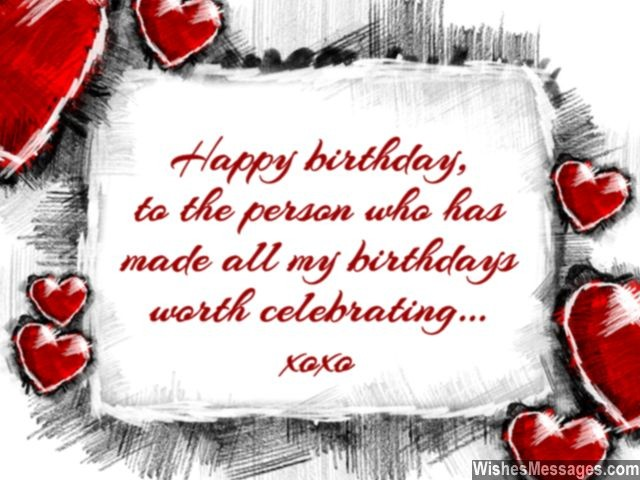Birthday Wishes for Wife Quotes and Messages WishesMessages – Happy Birthday Card Message