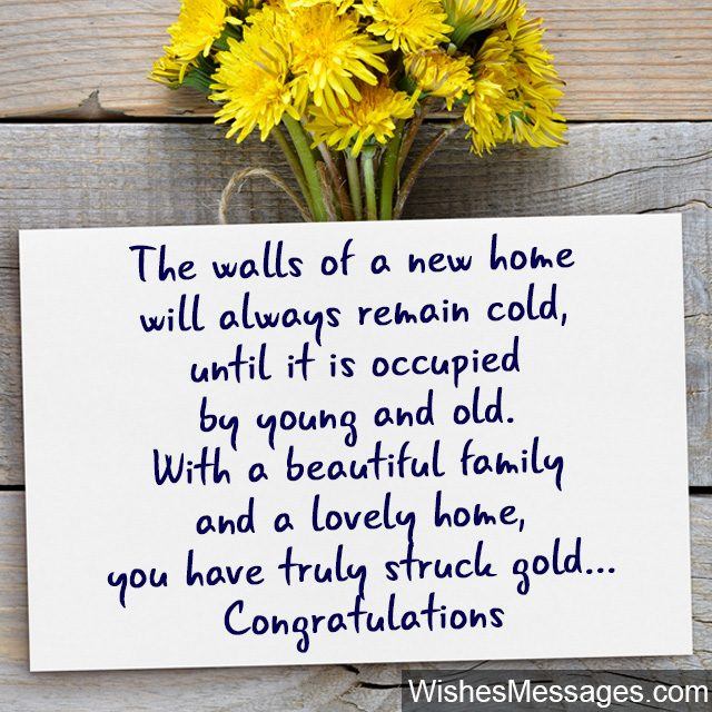Best House Of Cards Quotes: New Home Wishes And Messages: Congratulations For Buying A