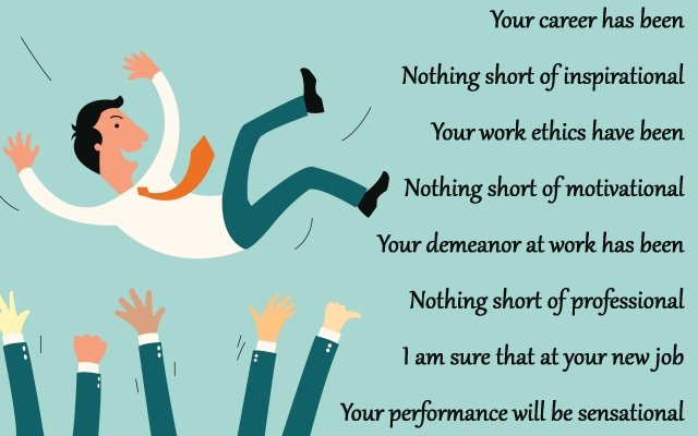 inspirational message for colleague who got a new job