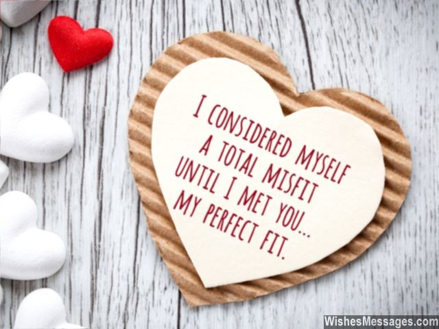 Perfect match love quote relationship you are my perfect fit
