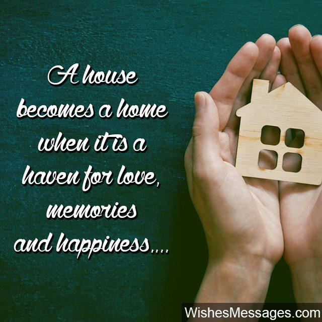 Quote about home when love and happiness make a house