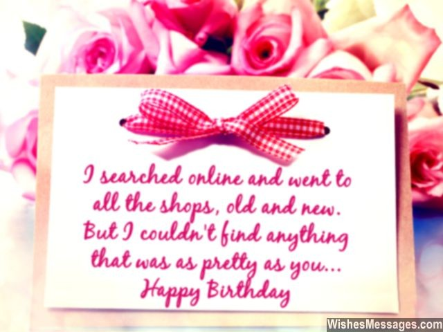 Birthday wishes for girlfriend quotes and messages wishesmessages sweet birthday wishes for girlfriend message to her m4hsunfo Image collections