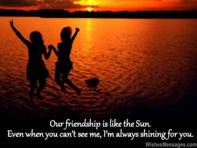 Sweet Friendship Quote For Best Friend Birthday Card