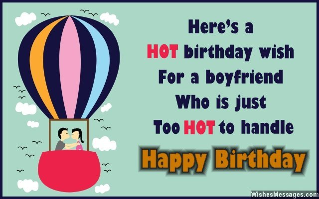 Sweet Happy Birthday Card Message For Boyfriend