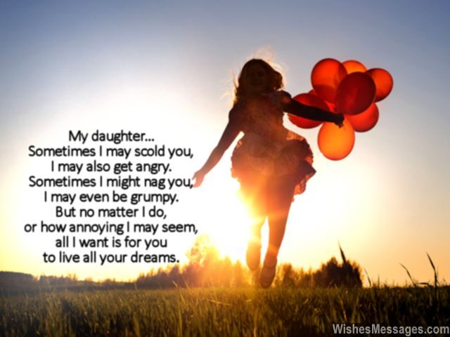 Beautiful quote for daughter to express love for her