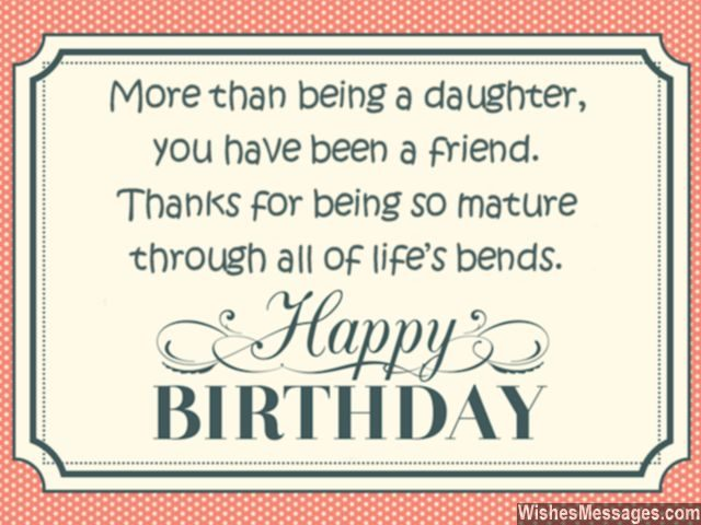 Birthday quotes wishes for daughter