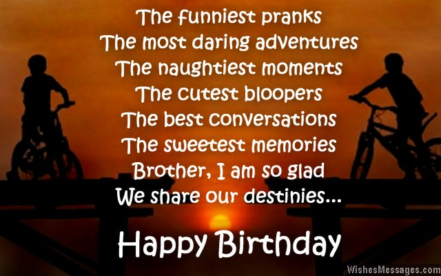 Birthday wishes for brother quotes and messages wishesmessages birthday wish for brother m4hsunfo