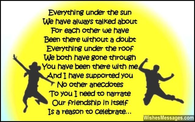cute poems for your best friend birthday poems for best friends wishesmessages 17204