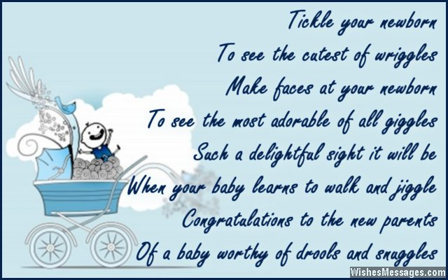 cute wishes for newborn to the parents