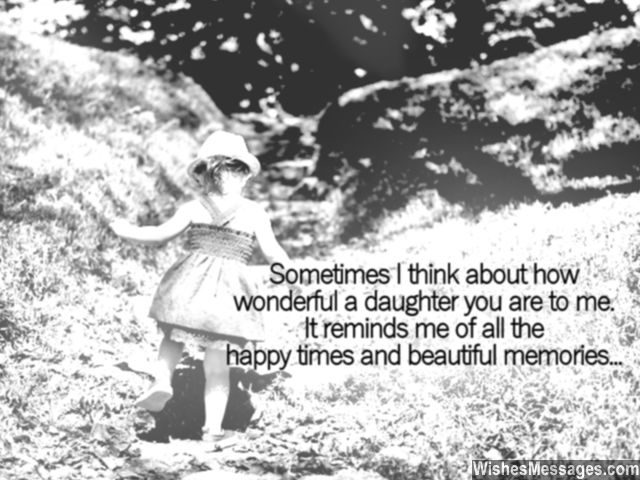Daughter beautiful memories birthday message for growing up