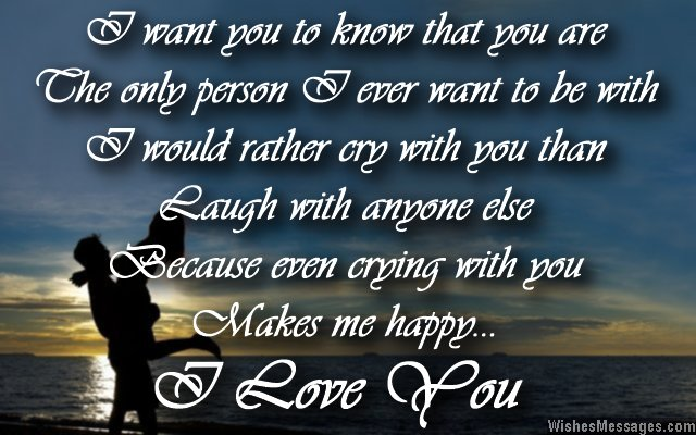 Love Quotes For Your Boyfriend Custom I Love You Messages For Boyfriend Quotes For Him  Wishesmessages