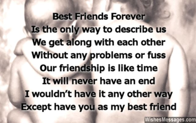 Birthday Poems For Best Friends Wishesmessages