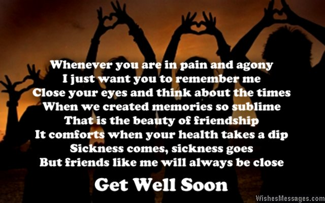 Get well soon poems for friends wishesmessages sweet get well soon greeting card poem for friends m4hsunfo
