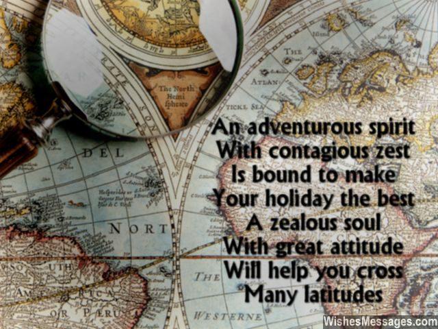 Sweet quote to wish bon voyage