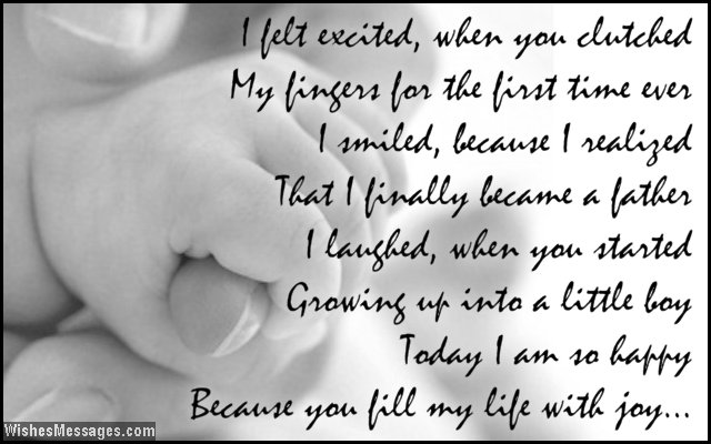 Birthday Wishes For Son Quotes And Messages Wishesmessages