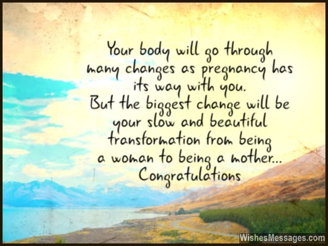 Pregnancy wishes and quotes congratulations on getting pregnant congratulations on getting pregnant being a mother card message m4hsunfo