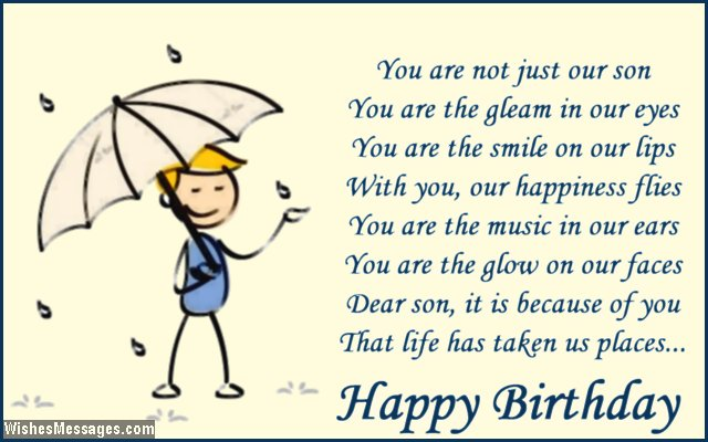Birthday Quotes For Husband And Son Happy birthday to my husband – Cute Birthday Card Quotes