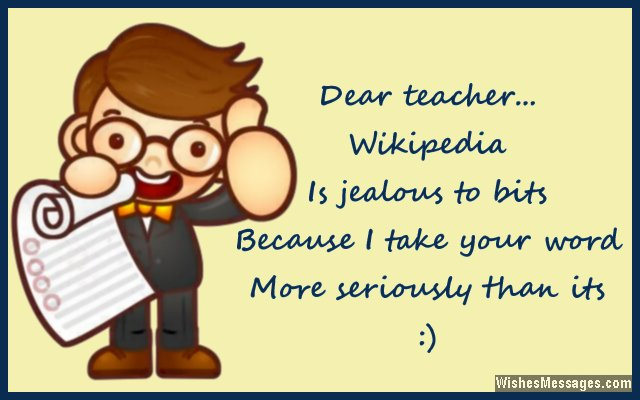 Thank you notes for teacher messages and quotes wishesmessages thank you funny message to teachers from students m4hsunfo