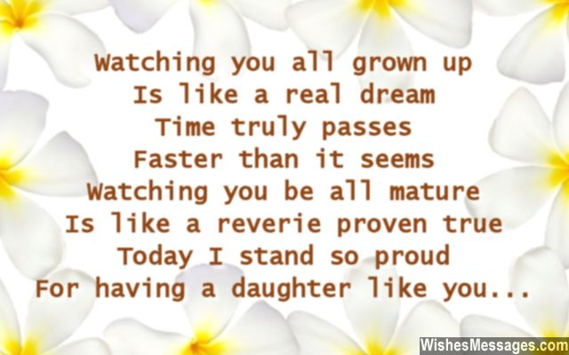 Birthday poems for daughter wishesmessages heart melting birthday wishes for daughter from her mother and father m4hsunfo
