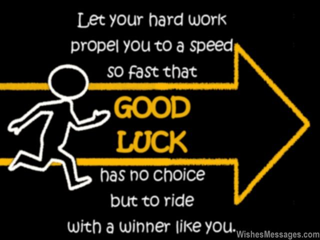 Good Luck Quotes Best Good Luck Messages For Exams Best Wishes For Tests WishesMessages