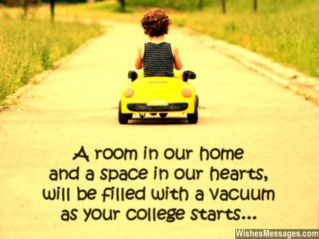 Leaving For College Quote Goodbye Son Daughter