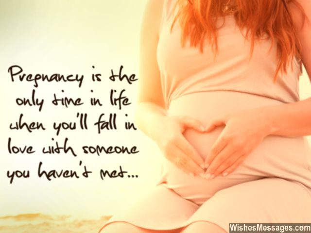 Pregnancy quote for expecting mother love someone you havent met