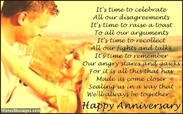 happy anniversary poems from wife to husband