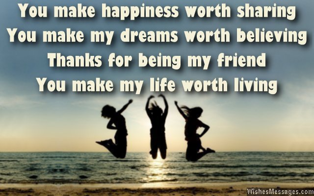 thank you messages for friends quotes and notes wishesmessages com