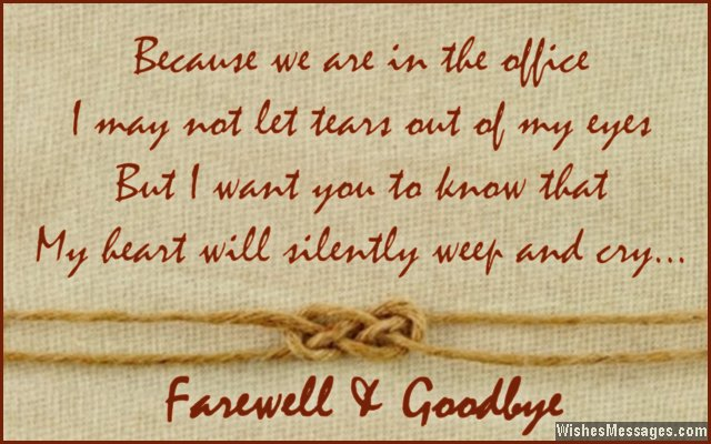 Funny Goodbye Letters By Pastorgallo Pictures to pin on Pinterest