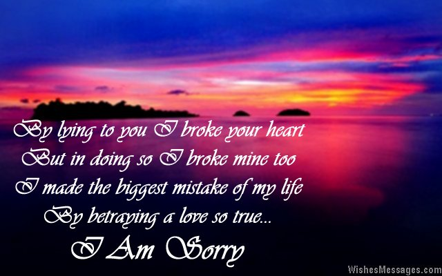 I Am Sorry Messages for Girlfriend: Apology Quotes for Her ...