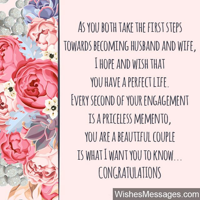 Congratulations for getting engagement engagement greetings