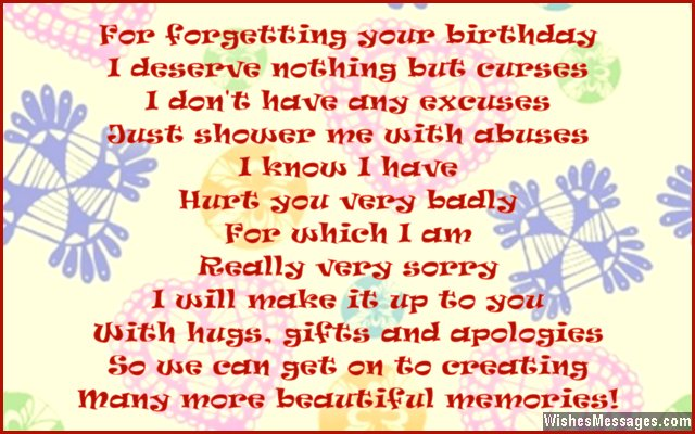 Cute Belated Birthday Message For Friends