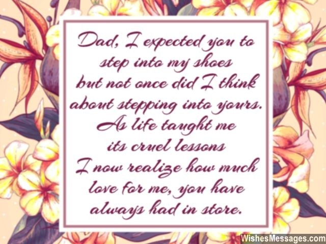 Thank You Dad: Messages and Quotes – WishesMessages.com