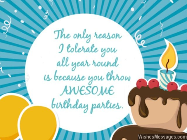 Funny birthday speech quote humorous birthday toast