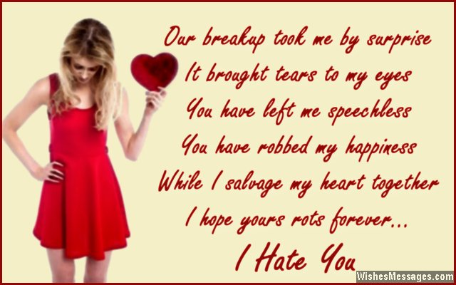 Heartbreak sms for boyfriend