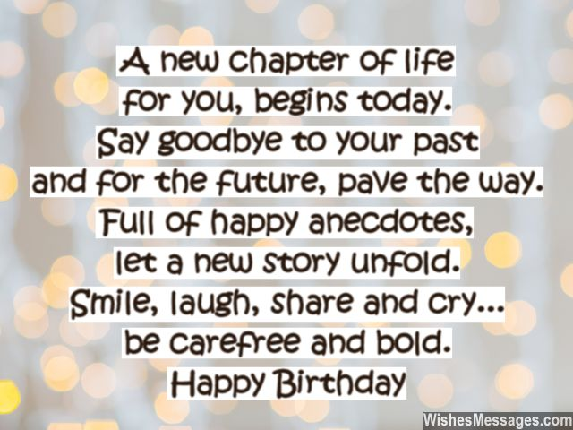 40th birthday wishes quotes and messages wishesmessages inspirational birthday quote for turning 40 years old bookmarktalkfo Choice Image