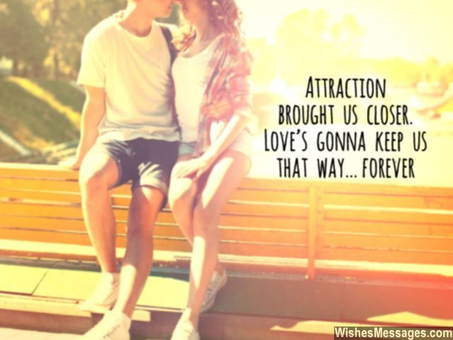 Love forever quote for her attraction girlfriend boyfriend