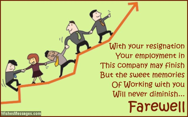 Farewell Messages For Colleagues Goodbye Quotes For CoWorkers