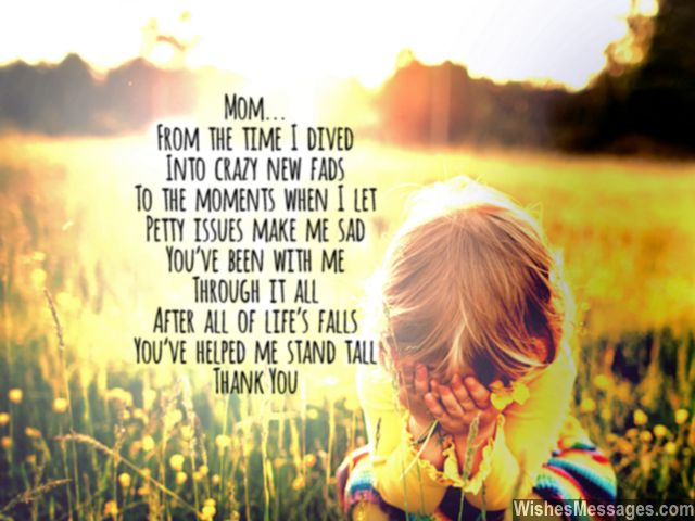 Poems To Show Love For Mom 101