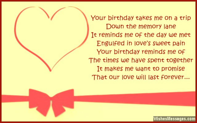 Birthday poems for girlfriend page 2 wishesmessages com