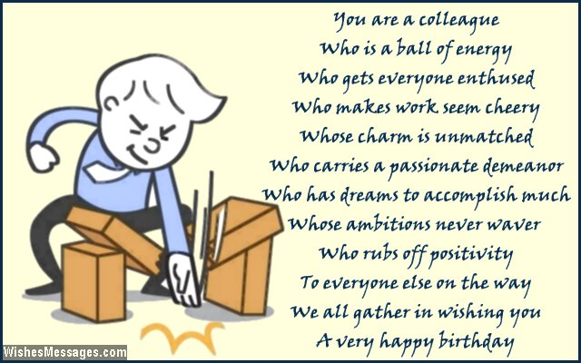 Birthday Poems for Colleagues – Page 2 – WishesMessages.com